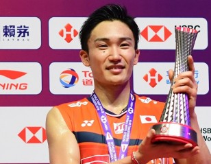 Momota Captures HSBC BWF World Tour Finals to Make IT 11 Titles in 2019