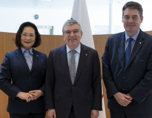 IOC President Confident of Successful Olympics
