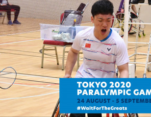Countdown to Tokyo Paralympics Begins
