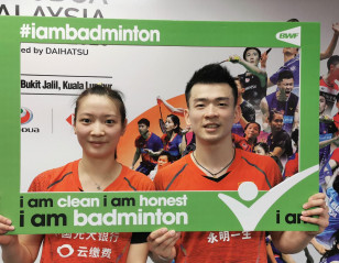 Zheng and Huang Embrace New Ambassador Role