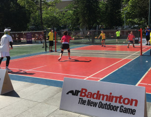 AirBadminton Debuts at Guangzhou Sports Festival