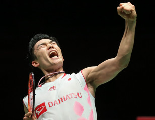 Momota Ready for International Return