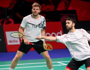 Denmark Open: Ellis/Langridge Hold Off Young Danes