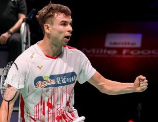 Denmark Open: Antonsen, Gemke Ensure All-Danish Final