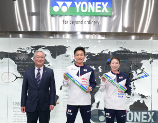 Yonex Named as Official Equipment Supplier of HSBC BWF World Tour Finals