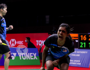 TOYOTA Thailand Open: Malaysian Shock for Sixth Seeds