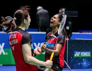 All England: Malaysian Duo Storm Past Fourth Seeds