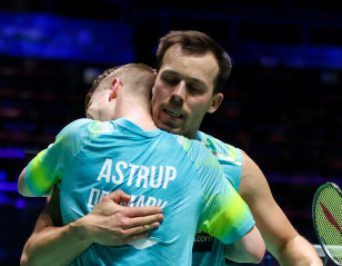 All England: Danes Prevail in Difficult Test