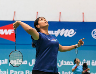 Dubai Para Badminton International: Leading Ladies Set the Tone