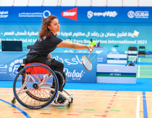 Dubai Para Badminton International: All-Points Battle