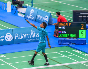 Dubai Para Badminton International: Standing Tall
