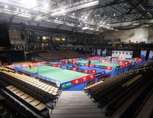 Put the Headphones on for 'Live' Badminton Experience