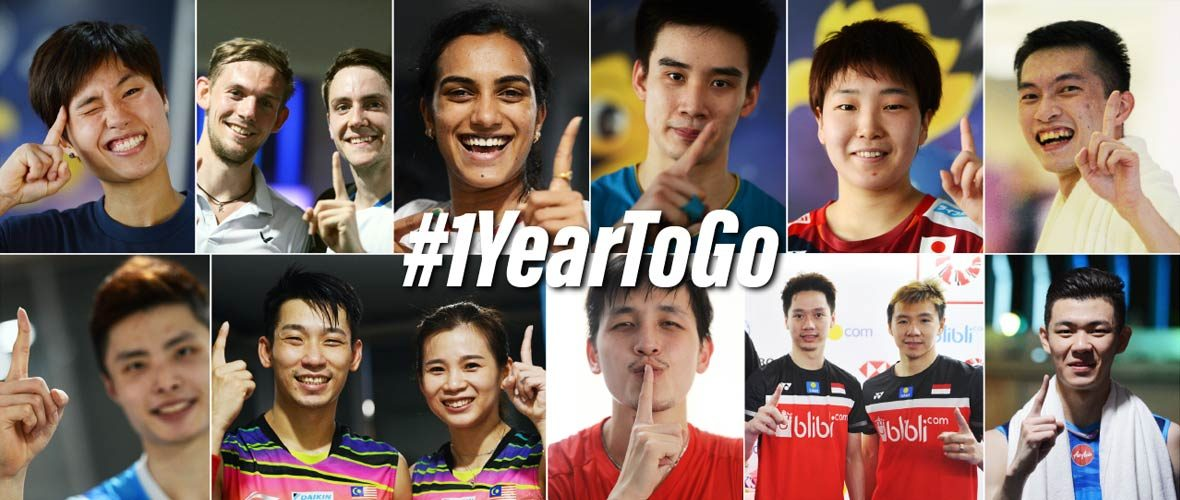 ONE YEAR TO TOKYO 2020